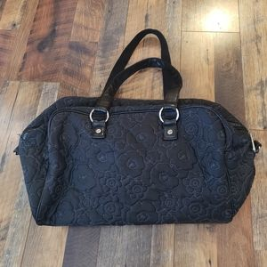 Thirty One Black d Floral Travel Overnight duff